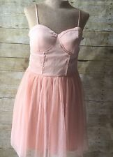 BAND OF GYPSIES URBAN OUTFITTERS PINM BALLET STYLE DRESS TULLE SZ XL NWT