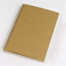 Brown Craft Bullet Journal A5 90 Sheets 5mm Dot Grid Note Sketch Book Art Gift