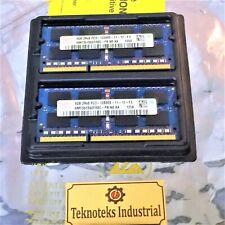 HYNIX HMT351S6EFR8C-PB / 4GB 2Rx8 PC3-12800S  LAPTOP (2X4GB) MEMORY CARD