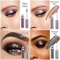 Longlasting Cosmetic Metallic Glitter Shimmer Makeup Liquid Eyeliner Eyeshadow