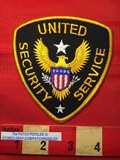 UNITED SECURITY SERVICES GUARD PATCH  AMERICAN BALD EAGLE C63D