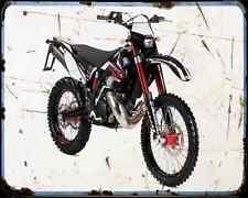 Gas Gas Ec 250 10 2 A4 Metal Sign Motorbike Vintage Aged