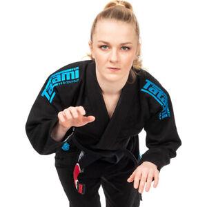 Tatami Fightwear Women's Estilo Black Label BJJ Gi - Blue/Black