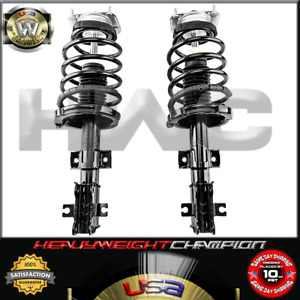 FRONT QUICK STRUT SPRING SHOCK PAIR FOR VOLVO S60 S80 V70