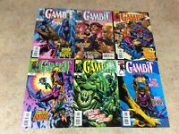 GAMBIT #2,3,4,5,6,7 LOT OF 6 COMIC  NM 1999 MARVEL