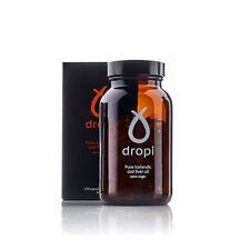 Dropi – Puro islandés Virgen Extra Aceite de Hígado de Bacalao/evclo (120 Cápsulas)