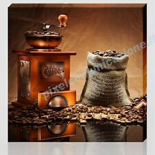 QUADRO MODERNO TELA 30x30 ARREDAMENTO CAFFE' BAR CAFFETTERIA DESIGN