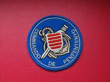 insigne militaire écusson patch Commandos Marine de Penfentenyo Ancre Dorée