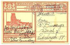 NEDERLAND GEILLUSTR.  PWS   1927   GZ- 199 f   NAAR  ZWITSERLAND  ZEER FRAAI
