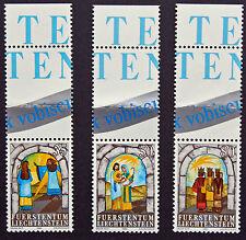 LIECHTENSTEIN - timbre/stamp Yvert et Tellier n°804 à 806 n** (cyn5)