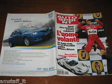 AUTOSPRINT 2004/10=GP F1 MELBOURNE=MICHAEL SCHUMACHER=MASERATI MC12=