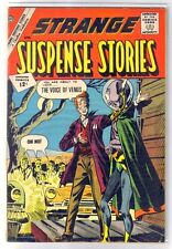 Strange Suspense Stories #58 The Voice of Venus! Charlton Comic Book ~ Fn