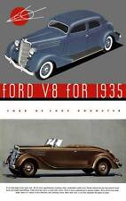 Ford 1935 - Ford V-8 for 1935  (20pgs)