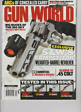 GUN WORLD SEPT 2012,EXCLUSIVE S&W's COMPETITOR WEIGHTED-BARREL REVOLVER& more!!