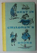 Vintage BEST in CHILDREN'S BOOKS 1959 Nelson Doubleday, 10 Short Stories