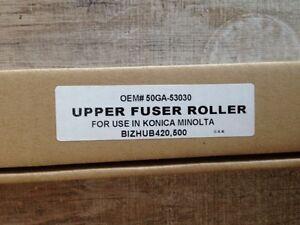 Konica Minolta Upper Fuser Roller bizhub 360 361 420 421 500 501 Compatible