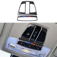 Carbon Fiber Car Reading Light Cover Trim Sticker For BMW X1 X5 F15 X6 F20 F30
