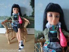 Liv Doll Daniela Raven Black Hair Wig Original Outfit Pink Purse Articulated
