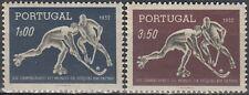 New listing Portugal 8th World Roller-Skating Hockey Championship 1952 MNH-13 Euro