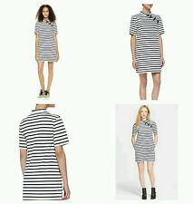 MARC by Marc Jacobs Jacquelyn Striped Mandarin Dress SIZE XS NWT!!!