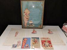Jell-o Kewpie art collection