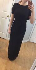 ASOS Black Long Maxi Dress. Open Back. Drape Back. Size US 4/UK 8. ELEGANT