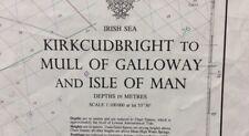 ADMIRALTY SEA CHART. KIRKCUDBRIGHT, GALLOWAY, ISLE OF MAN.No.2094.IRISH SEA.1978