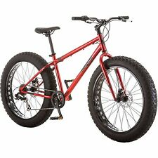 "26 "" Mongoose Hitch Mens All Terrain Fat Tire Bike 7 Speed Mountain Bicycle New"