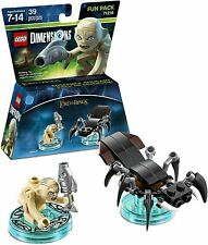 Lego Lord of the Rings building set Gollum minifigure Dimensions Fun Pack 71218