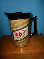 Miller High Life Pitcher With Lid - West Bend The