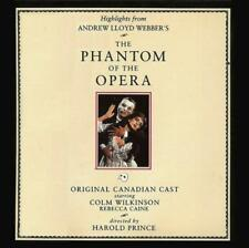 PHANTOM OF THE OPERA [Original Canadian Cast](CD 1990) OOP CAN First Ed NM HTF