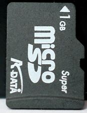 Kdata 1GB micro SD card.