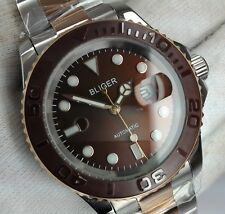 BLIGER AUTOMATIC SUBMARINER POWER RESERVE MENS UHR OROLOGIO MONTRE WATCH