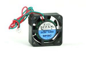 Shicoh 2510-5 L Icfan Small Mini Fan/ Fan 25x25x10mm Dc 5V 0.09A 2-Pin 2-Wire