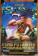 KUNG FU HUSTLE - COOLIE  2005 Movie Release Poster PROMO ONLY!!!