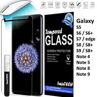 Tempered Glass Screen Protector for most popular Samsung galaxy phones