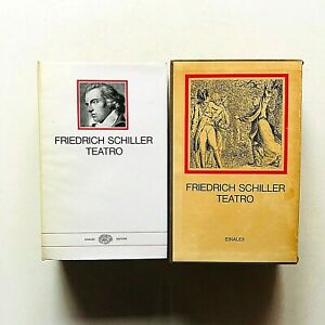 Friedrich Schiller Teatro Einaudi I millenni 1969 Prima edizione in cofanetto