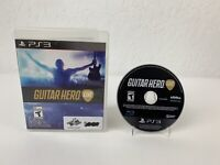 PS3 Guitar Hero Live Sony Playstation 3 Game Complete Tested