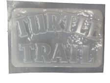 Turtle Trail Plaque Stepping Stone Plaster or Concrete Mold 7168 Moldcreations