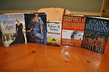 5 BOOKS COLLEGE FUND: THE SECRET MISTRESS, THE WIDOWS KISS, RESOLUTION + 2 MORE