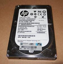 """Hp 614828-002 500GB  2.5"""" SATA Hard Drive MM0500EBKAE"""