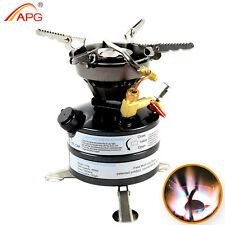 Portable Outdoor Camp Stove Multi fuel Camping Picnic Stove Gasoline Burner
