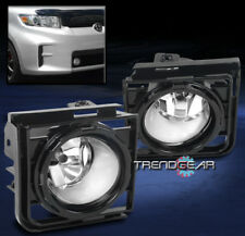 2011-2015 SCION XB FRONT BUMPER CHROME FOG LIGHT LAMP KIT W/COVER+WIRING HARNESS