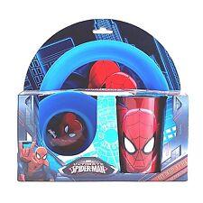 Spiderman 3er Set Kinder Becher Teller Müslischale Schüssel Tasse Frühstücksset