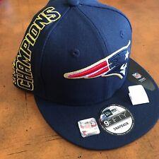 NE Patriots 5x Superbowl Champions RARE New Era Snapback