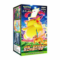 "Pokemon Card ""Astonishing Volt Tackle"" Booster Box 30 Pack Korean Ver"