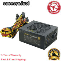 1600W PSU ATX Power Supply for Mining Machine Support 16 Pieces 6+2PIN Graphics