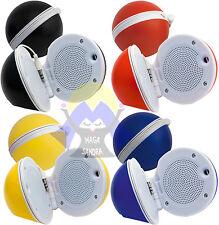 Altoparlante MINI SPEAKER Cassa PC Smartphone JACK Cavo 3,5 mm MP3 Tablet RADIO