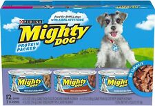 Purina Mighty Dog in Gravy Wet Dog Food Variety Pack - 12 cans, 5.5 oz each