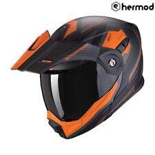Scorpion ADX-1 Tucson Modular Flip Dual Sport Motorcycle Helmet - Orange